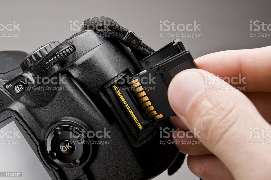 Memory Card stock photo