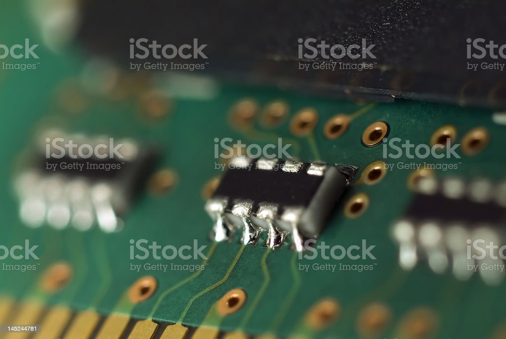 memory chip royalty-free stock photo