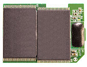 Memory electronic chip for computer