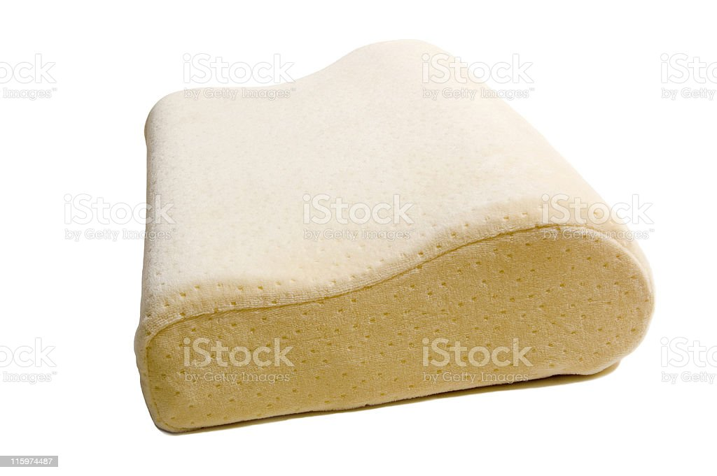 Memory Foam Contour Pillow stock photo