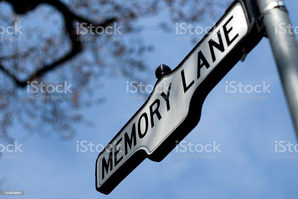 Memory Lane royalty-free stock photo