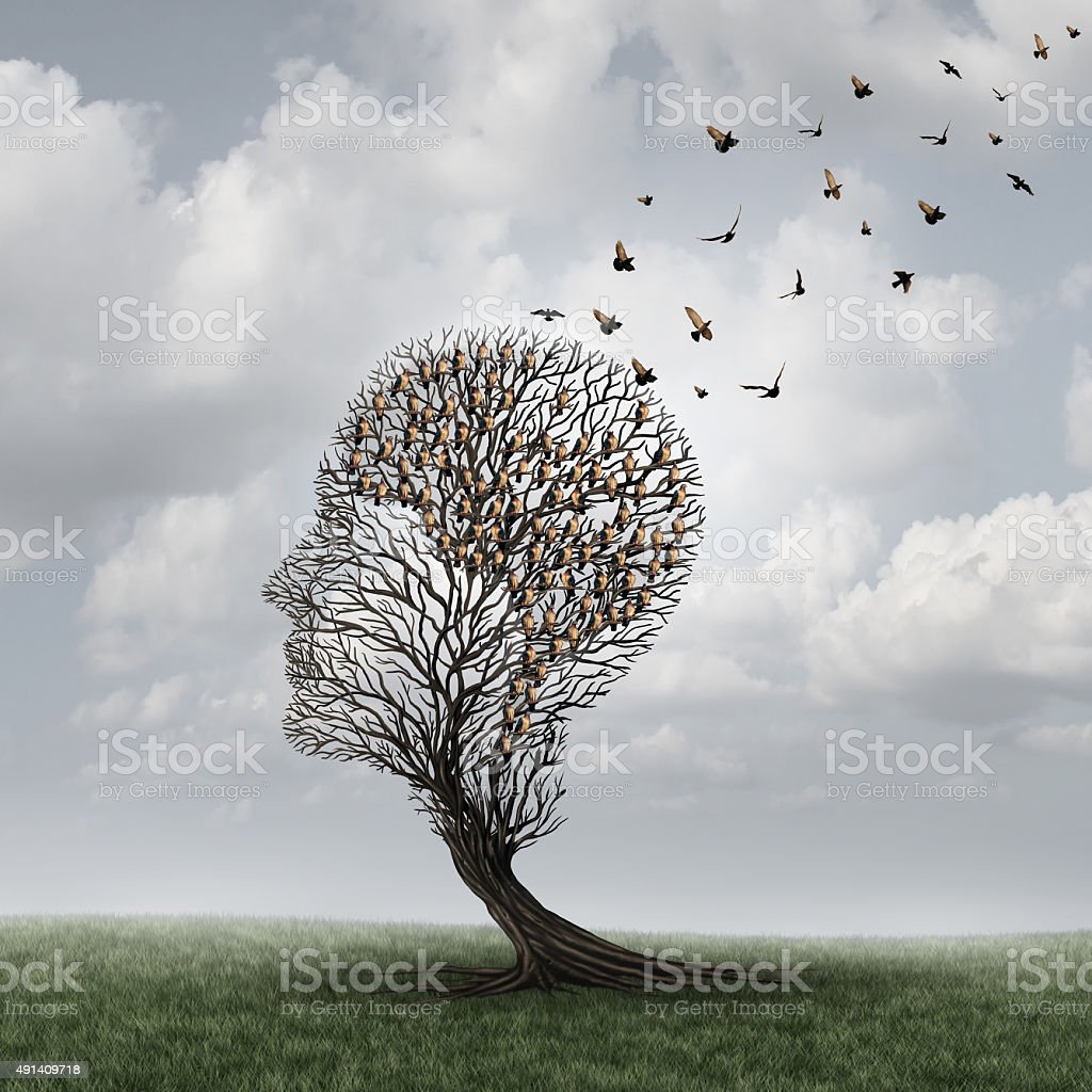 Memory Loss Concept stock photo