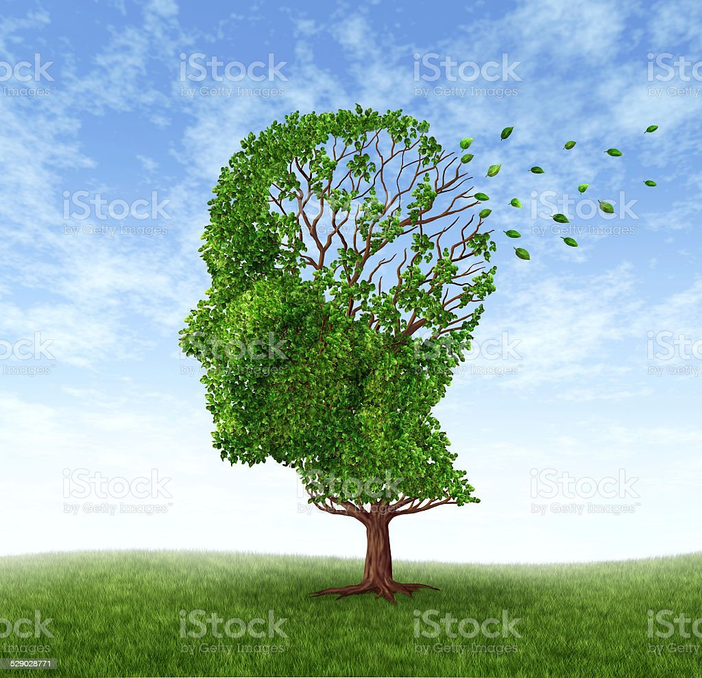 Memory Loss stock photo