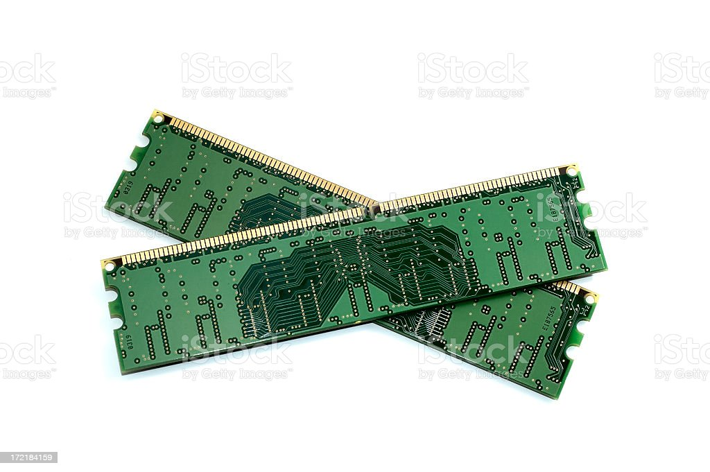 Memory module royalty-free stock photo