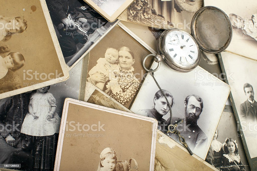 Memory of ancestors. stock photo