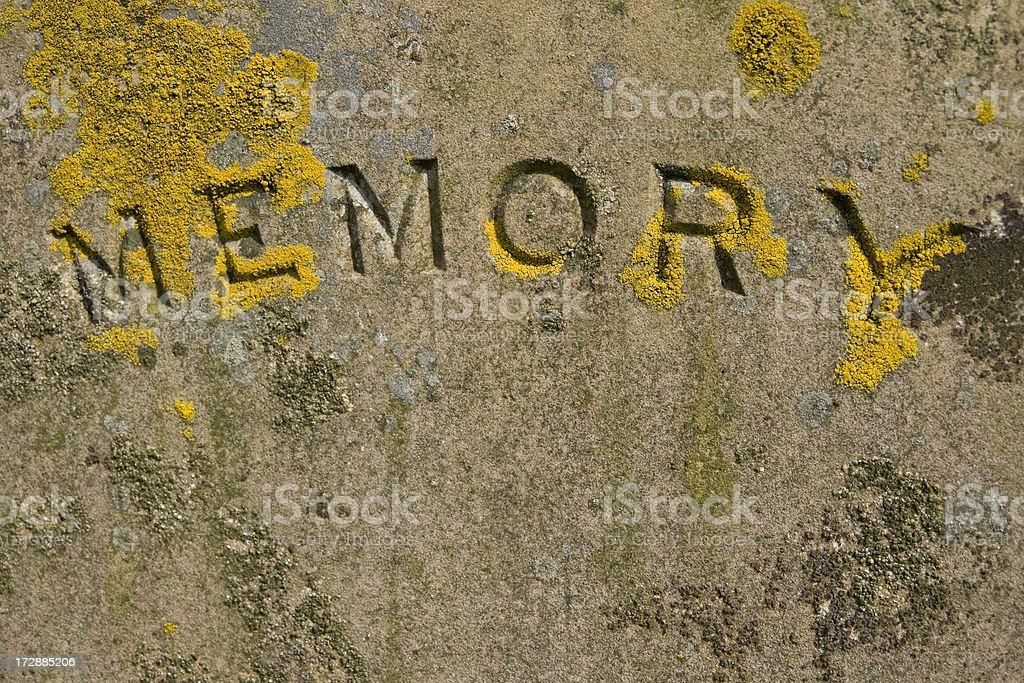 Memory stock photo