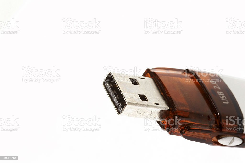 USB Memory Stick royalty-free stock photo