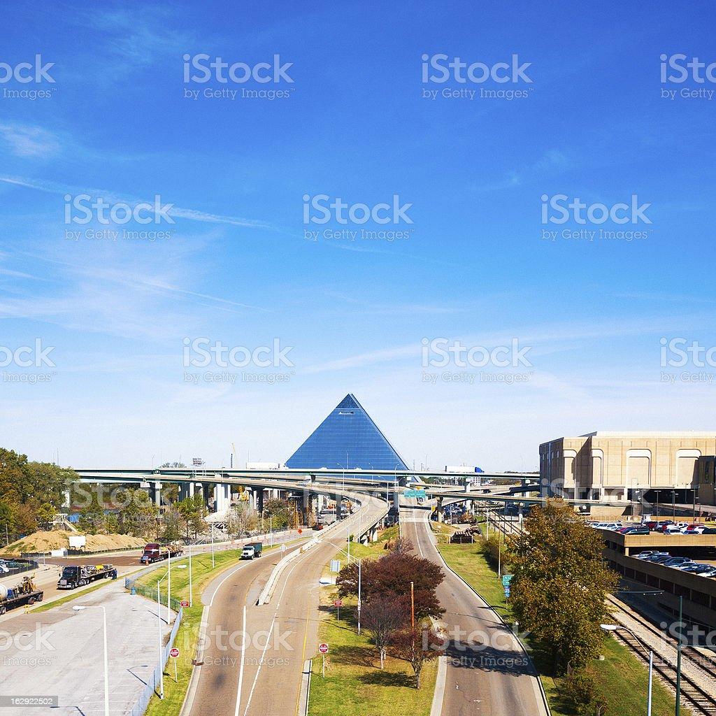 Memphis Downtown royalty-free stock photo