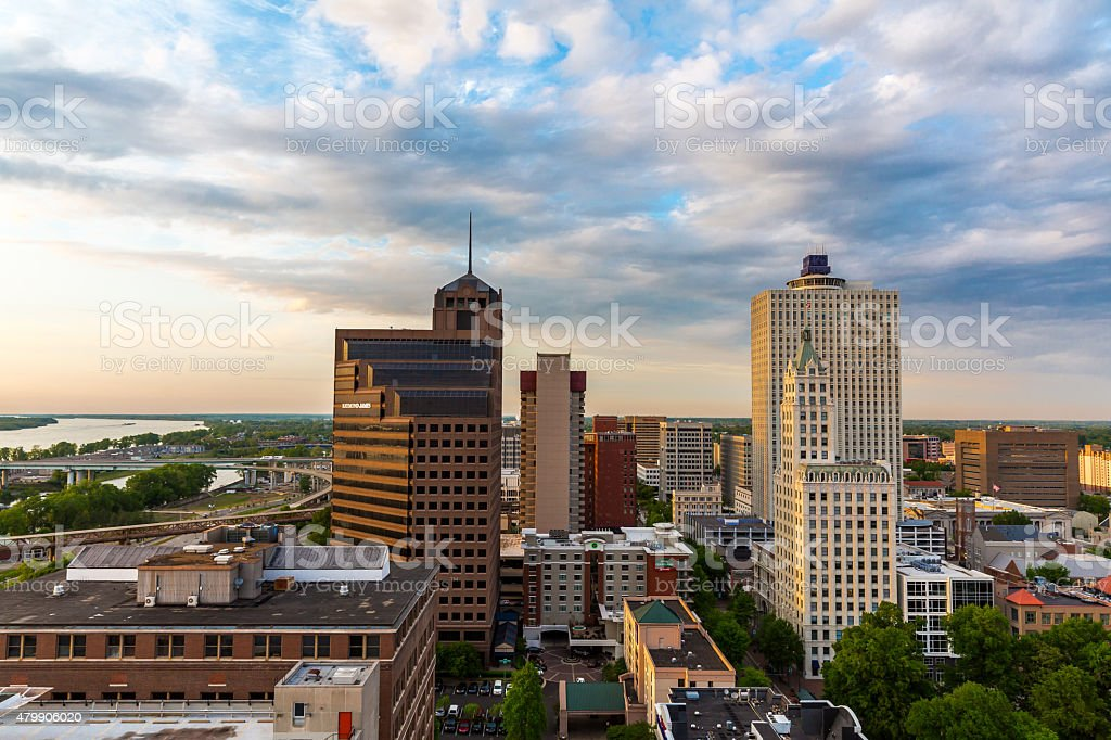 Memphis Downtown stock photo