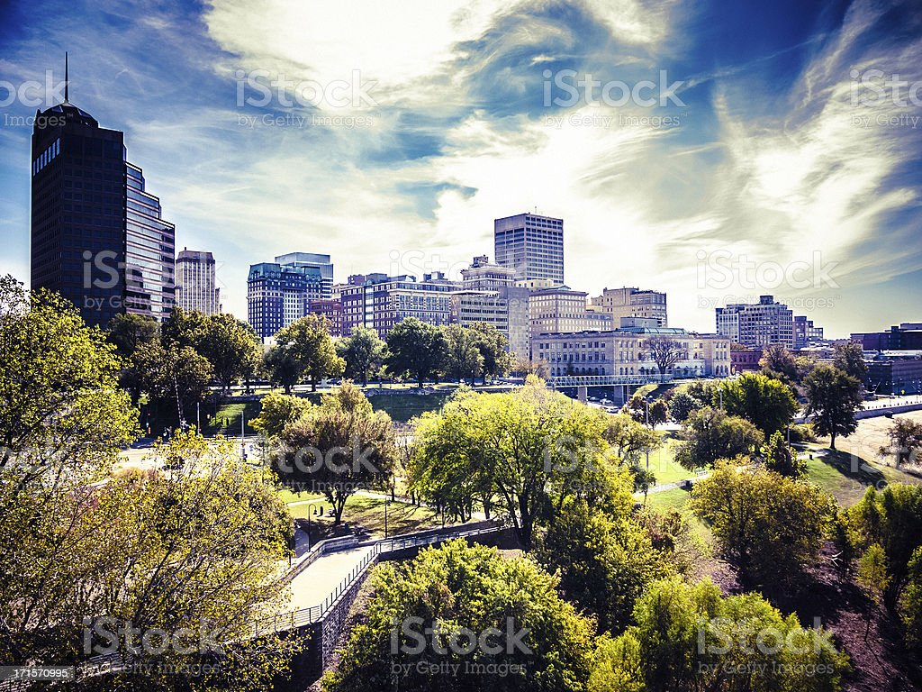 Memphis Downtown Skyline stock photo