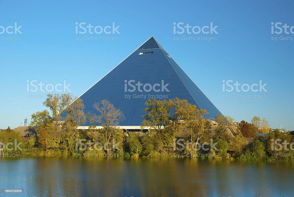 Memphis Pyramid Arena stock photo