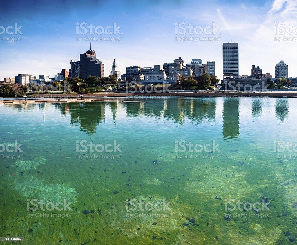 Memphis Skyline, Panoramic View stock photo