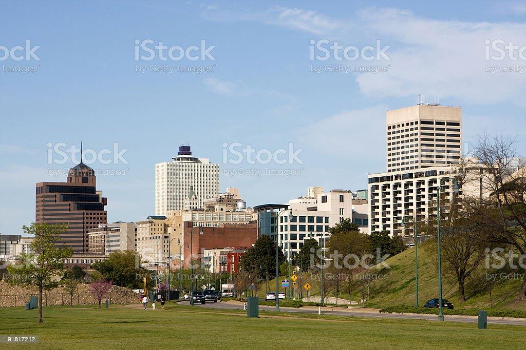 Memphis Skyline stock photo