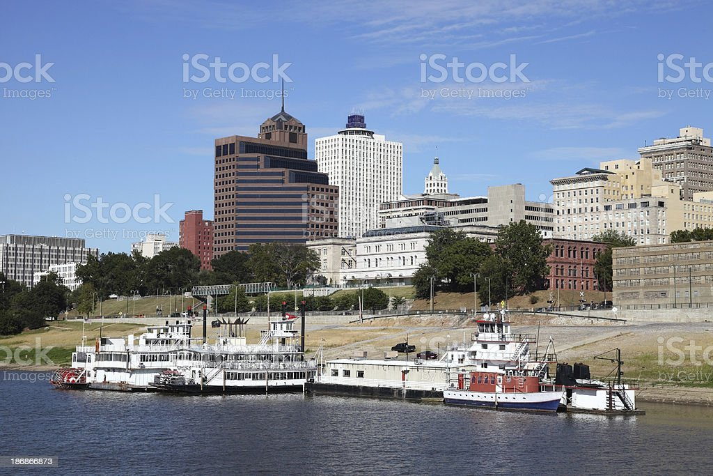 Memphis, Tennessee royalty-free stock photo