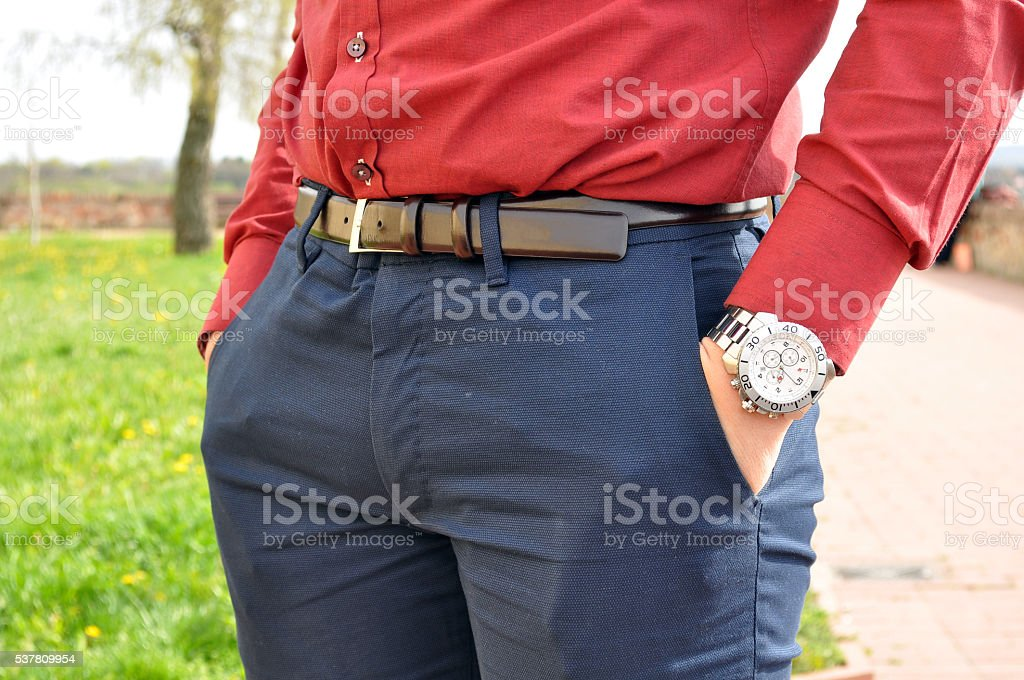 Men accesories stock photo