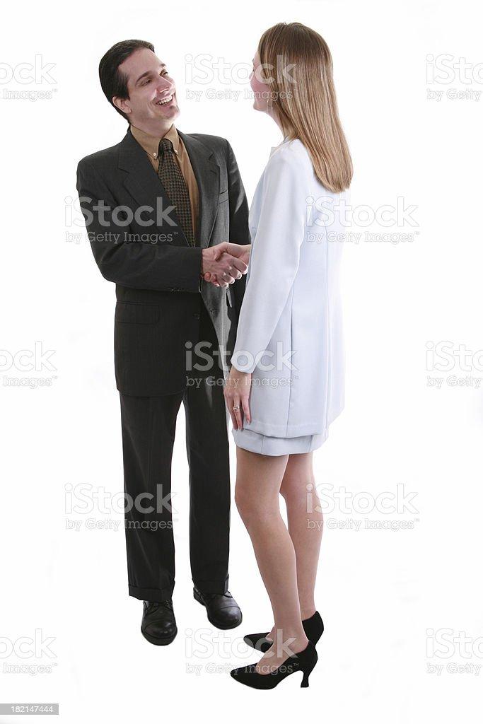 Men & Women In Business stock photo