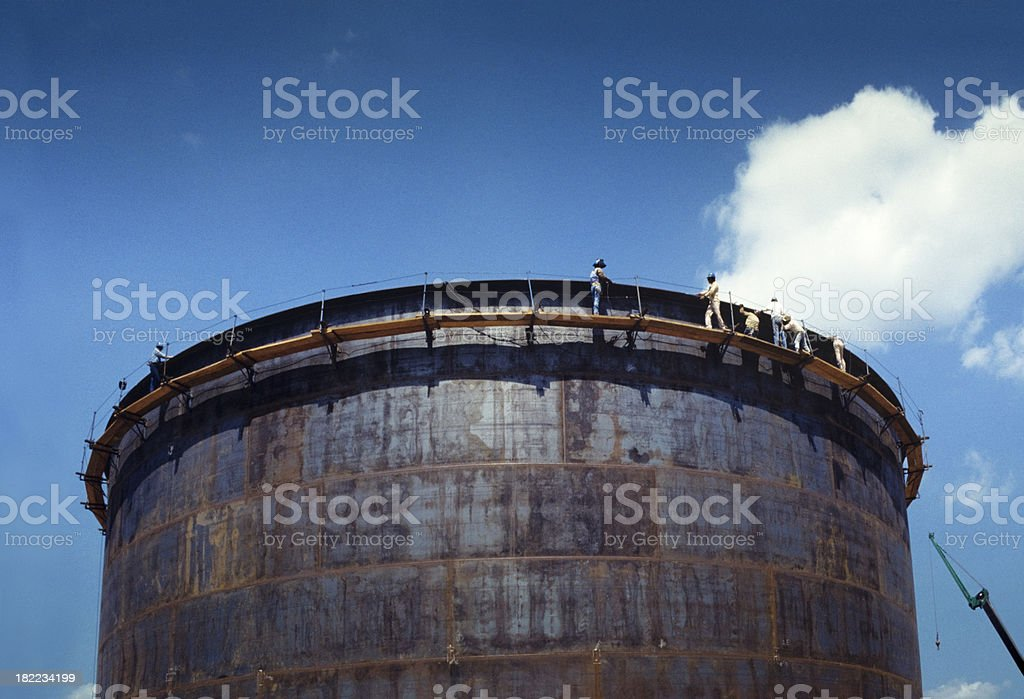 men at work royalty-free stock photo