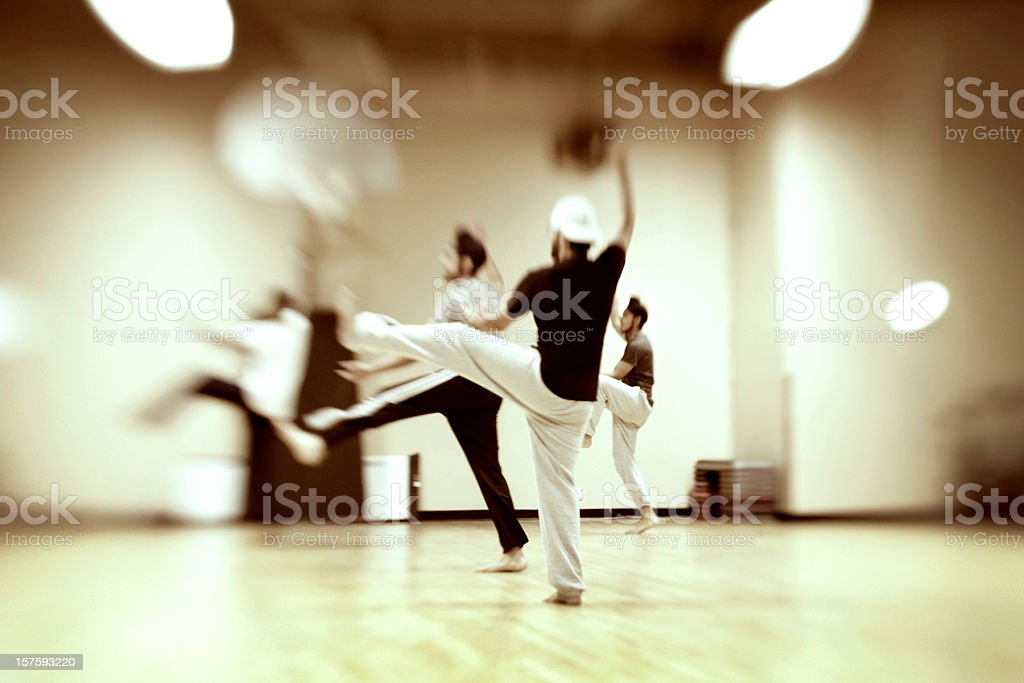 Men Bollywood Dancing stock photo