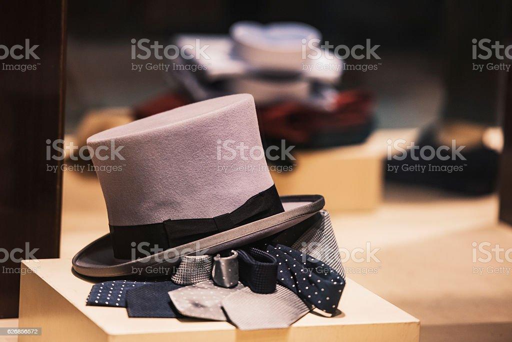 Men elegant clothing stock photo