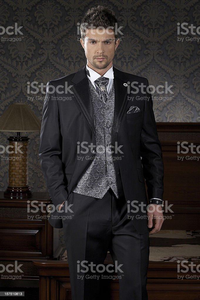 men fashion royalty-free stock photo
