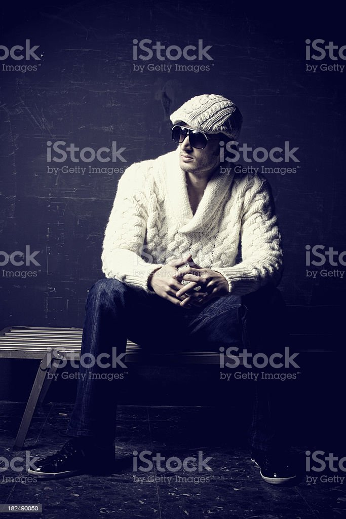 men fashion royalty-free stock photo