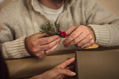 Men gift wrapping