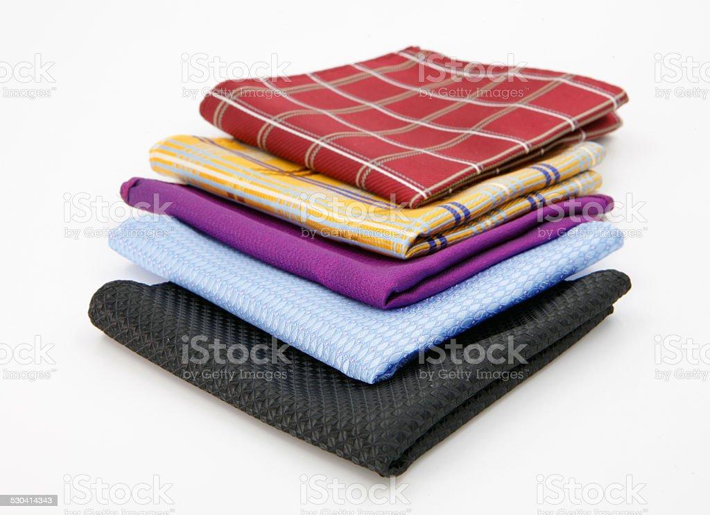 men heandkerchief stock photo