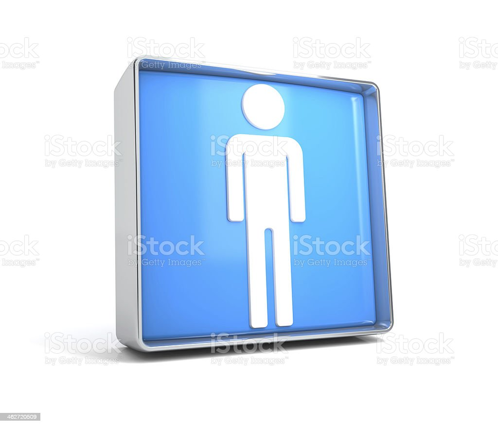 men icon royalty-free stock photo