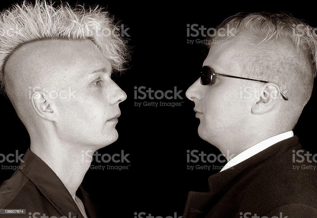men in black stock photo