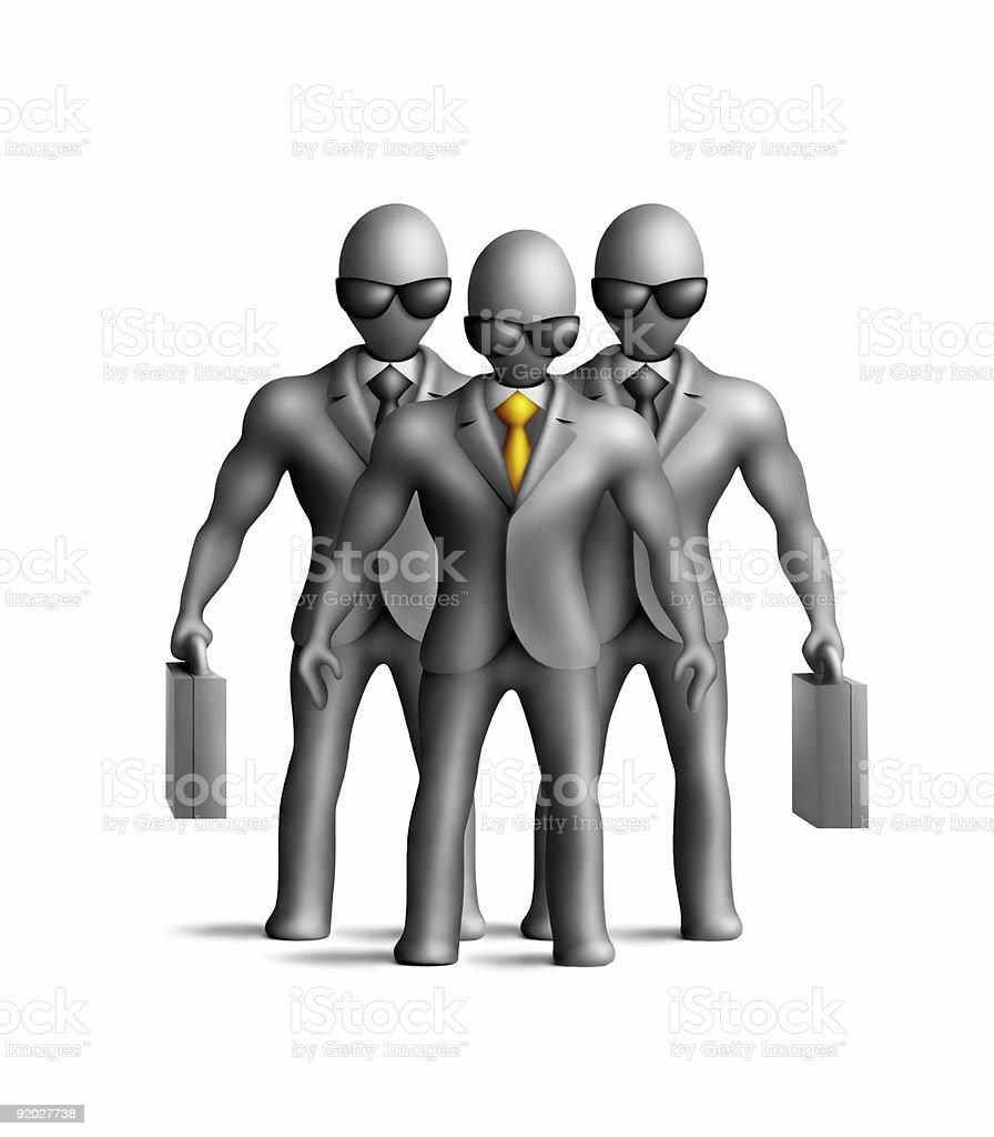 Men in gray royalty-free stock photo