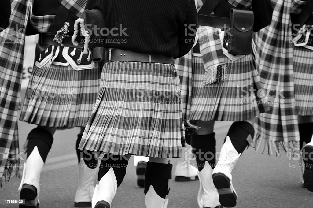 Men In Kilts stock photo