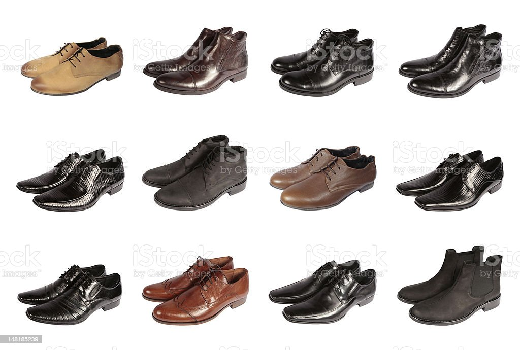 Men shoes royalty-free stock photo