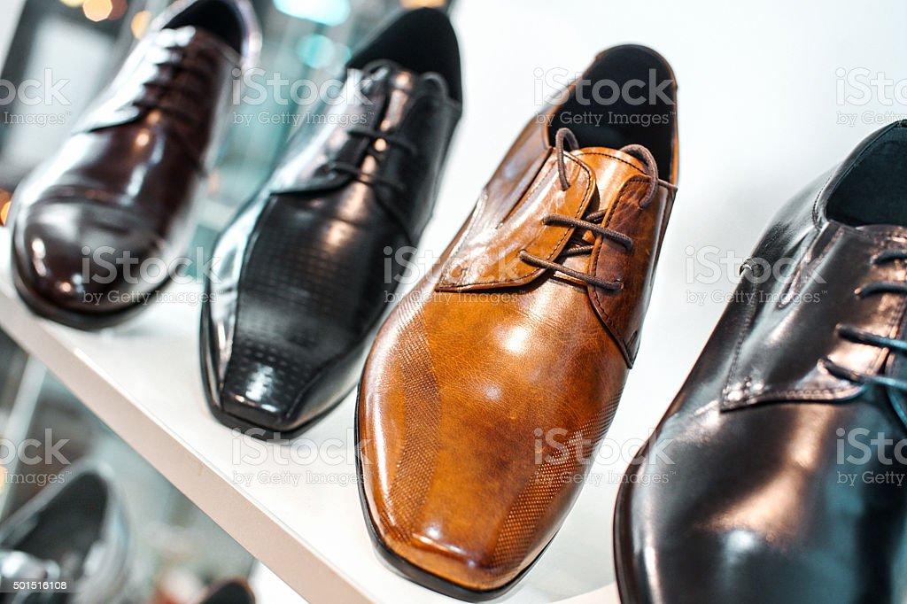 Men shoes. stock photo