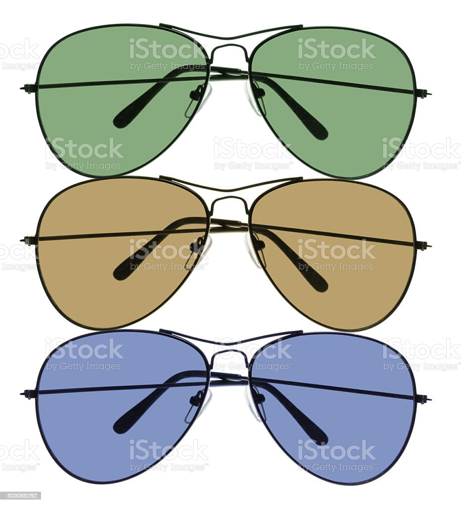 Men Sunglasses stock photo