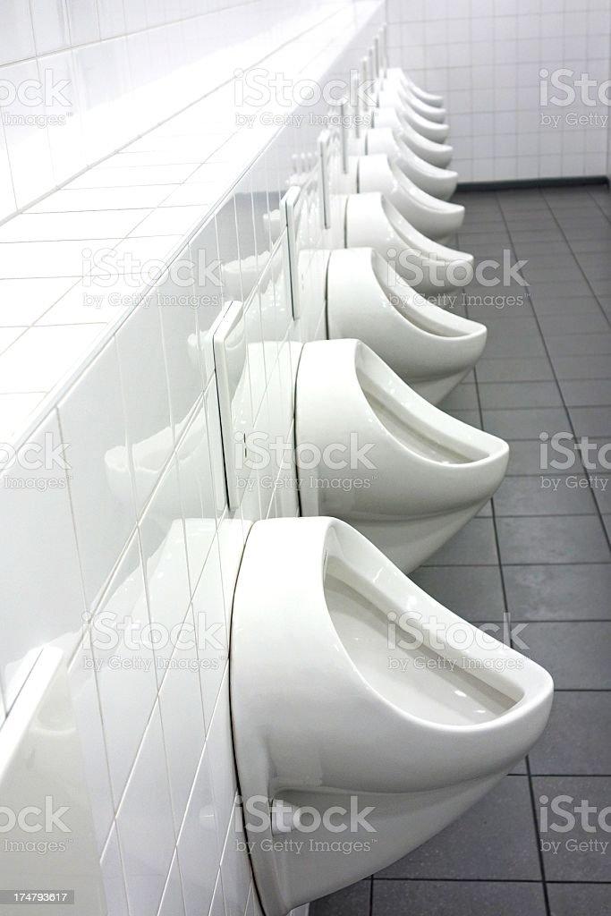men toilet stock photo