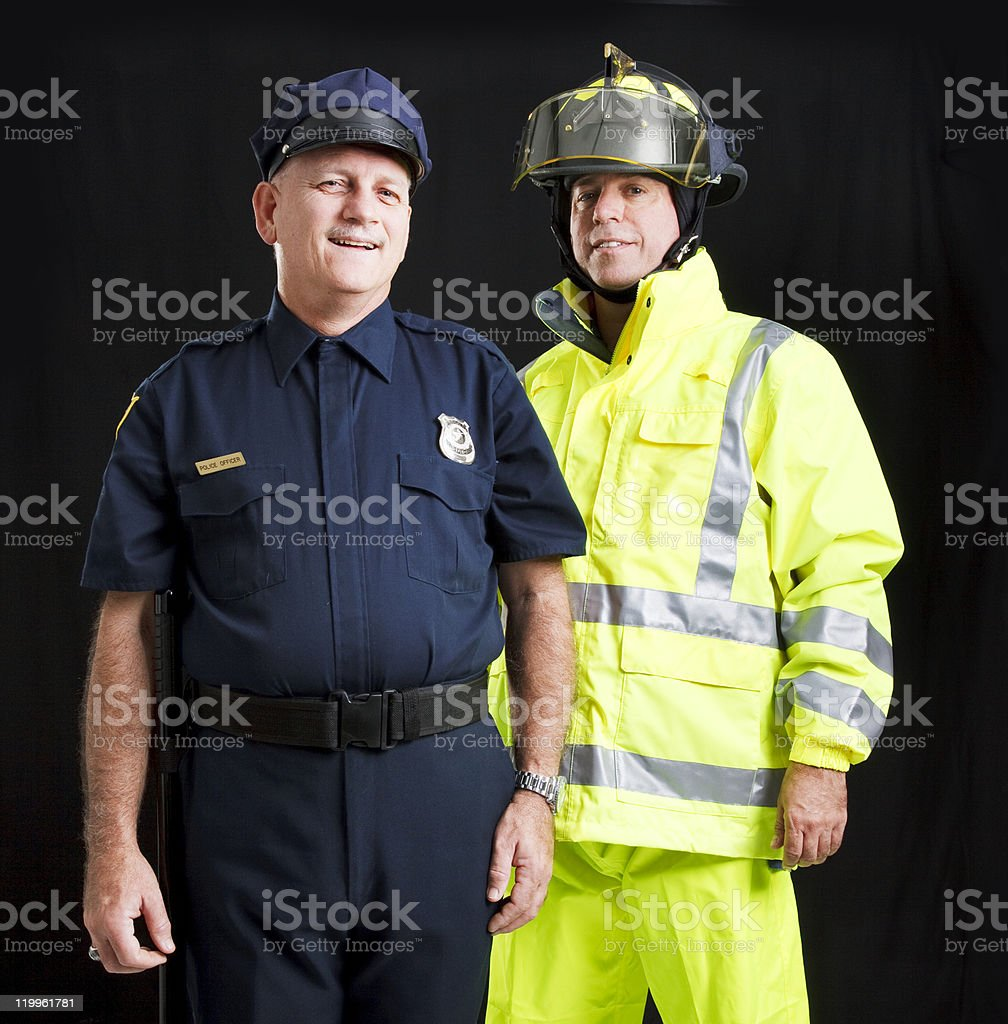 Men Who Serve stock photo
