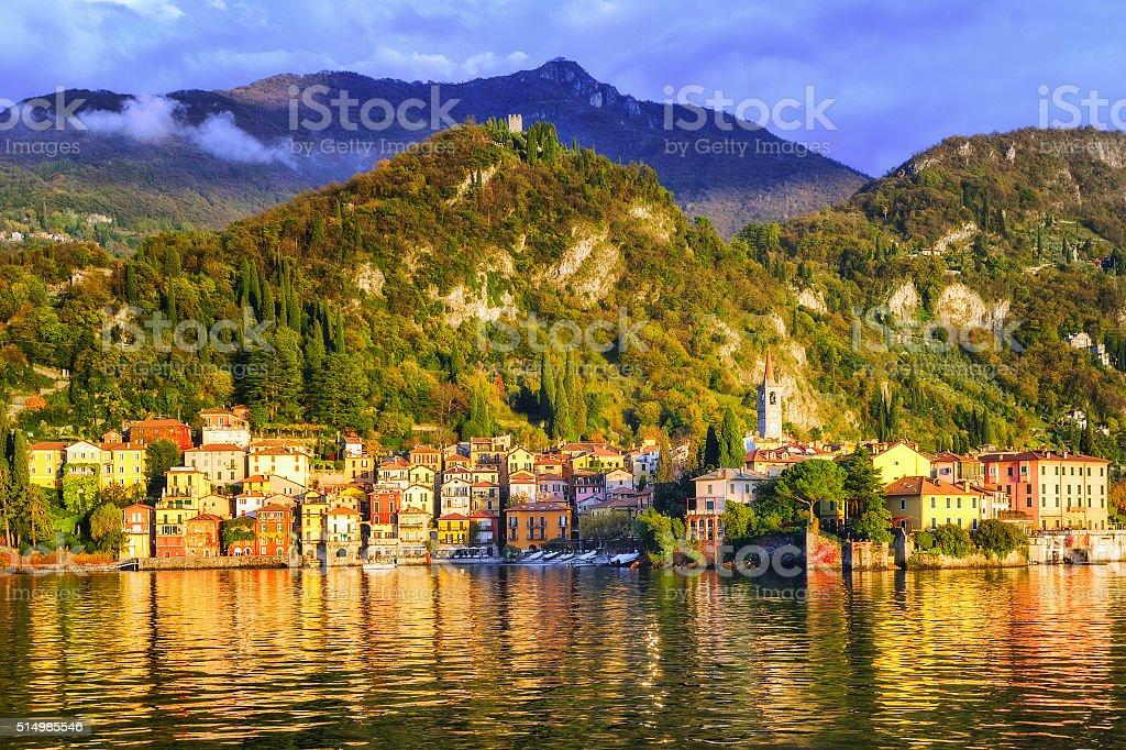Menaggio, Como Lake, Italy stock photo