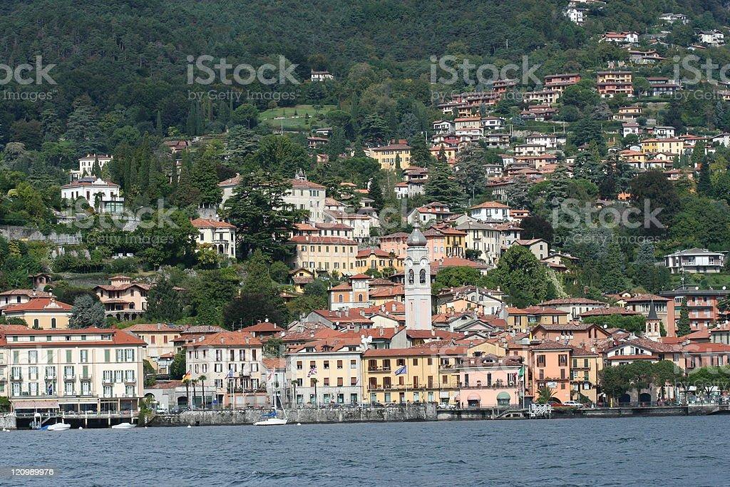 Menaggio in Italy royalty-free stock photo