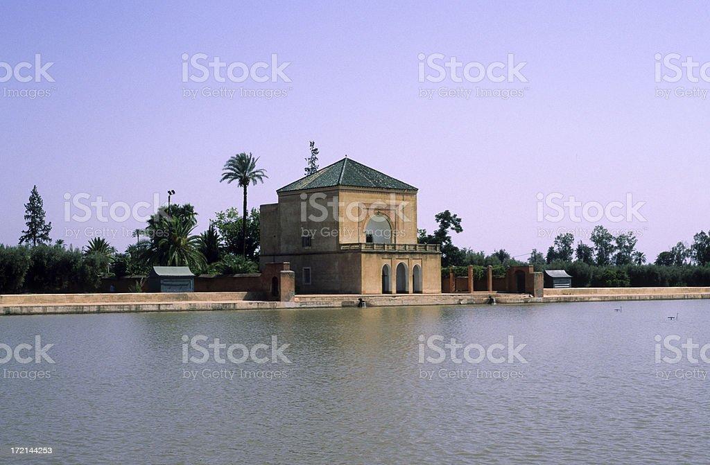 Menara in Marrakesh - Morocco royalty-free stock photo