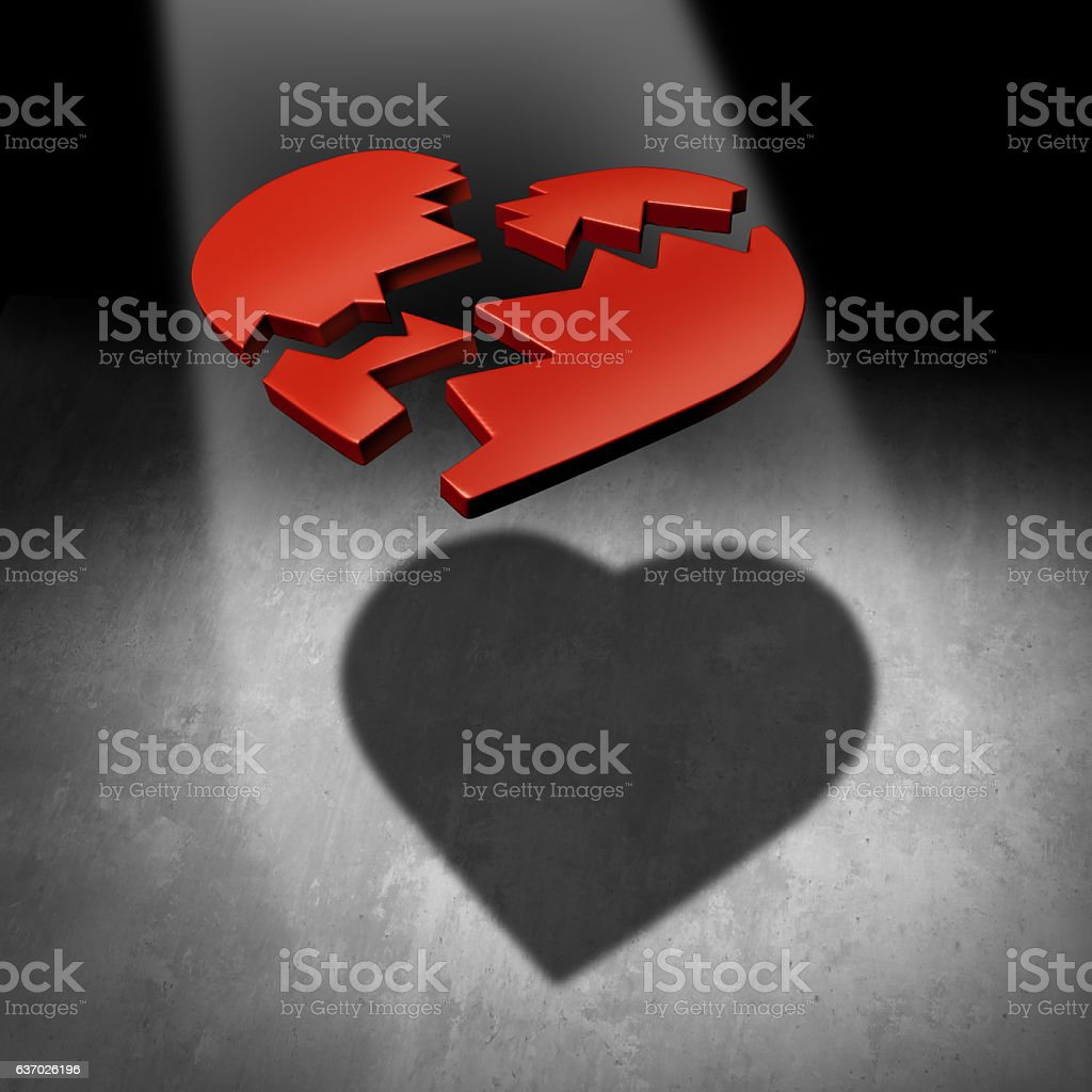 Mend A Heart stock photo