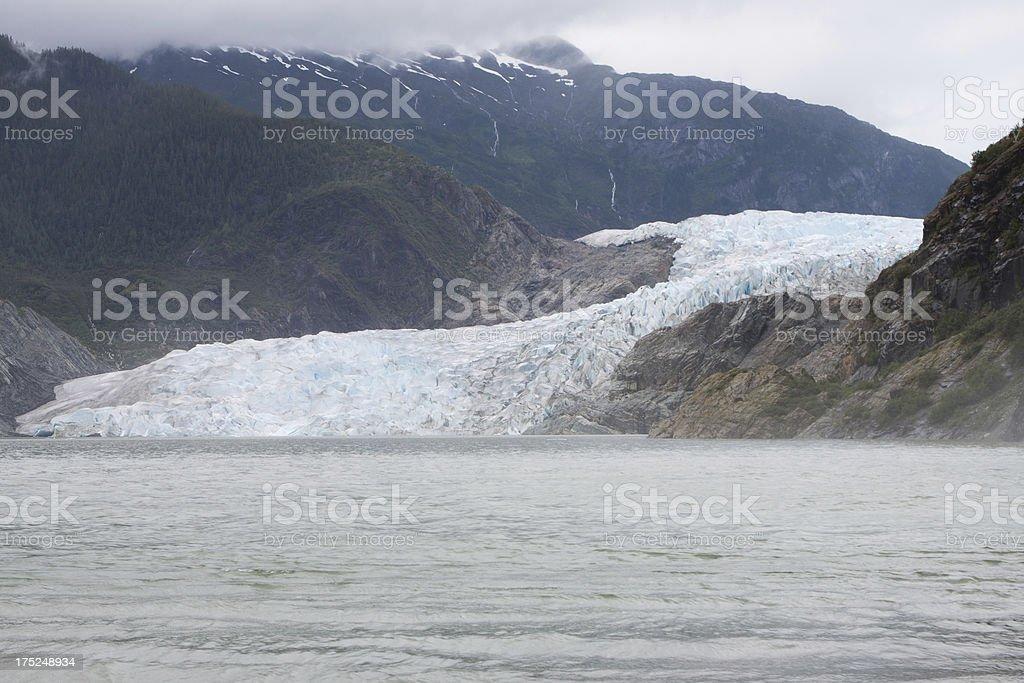 Mendenhall Glacier royalty-free stock photo