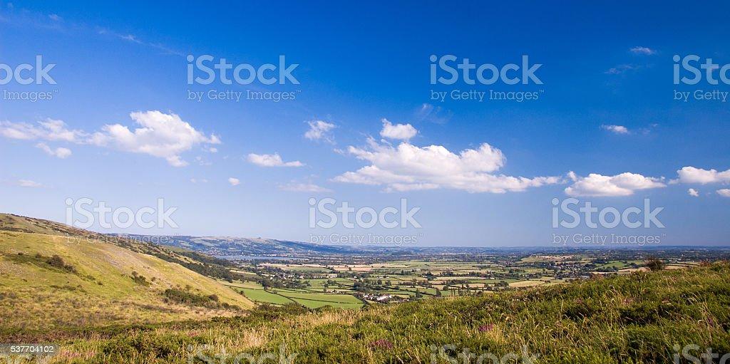 Mendip Hills stock photo