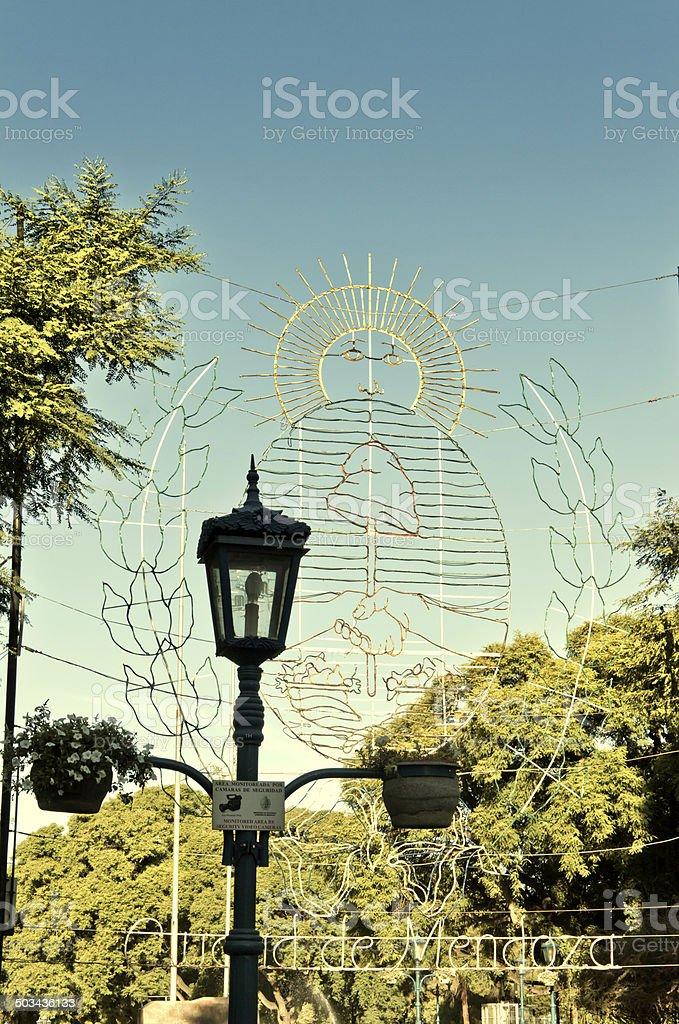 Mendoza city royalty-free stock photo