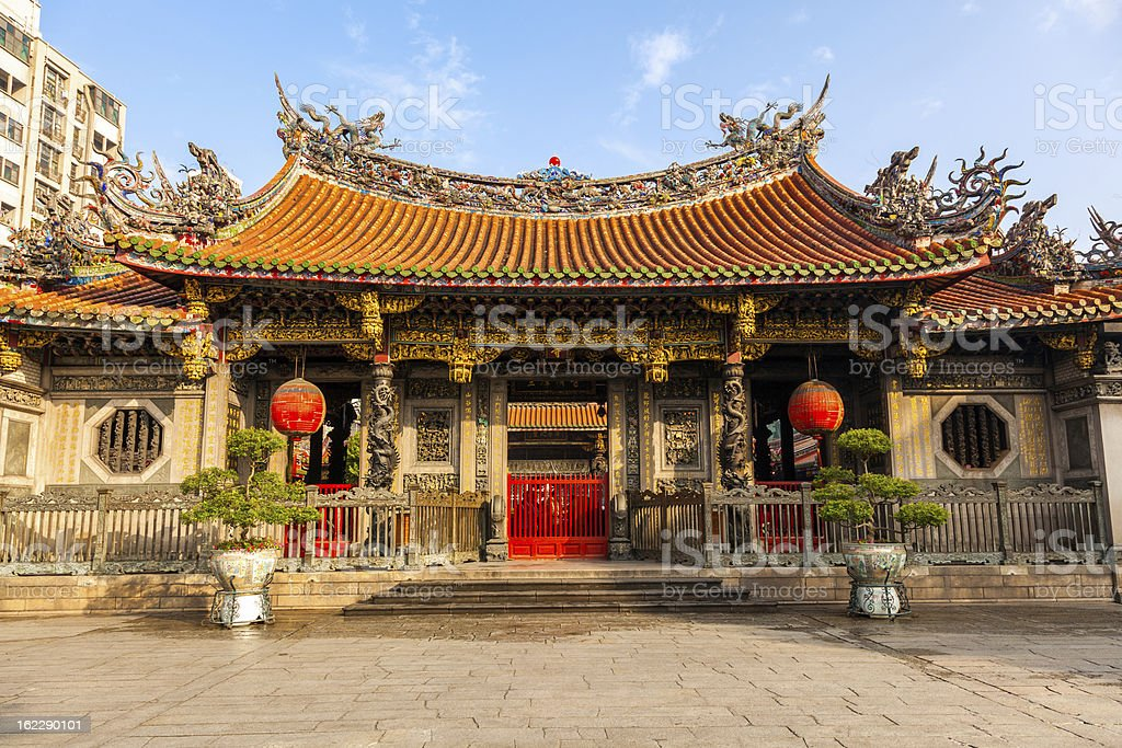 Mengjia Longshan Temple royalty-free stock photo
