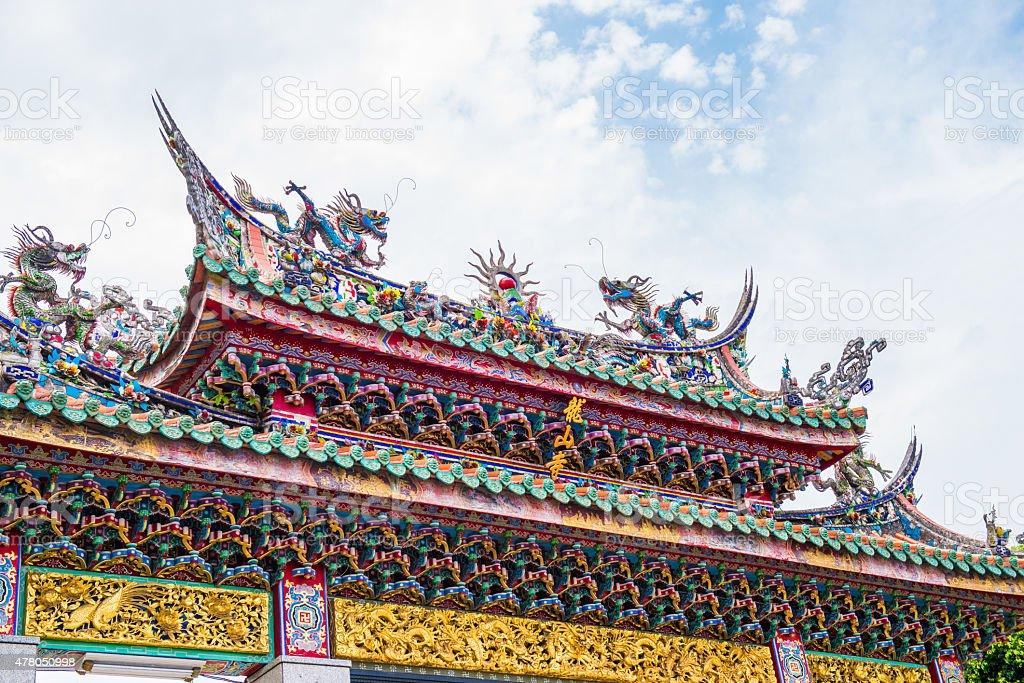 Mengjia Longshan Temple stock photo