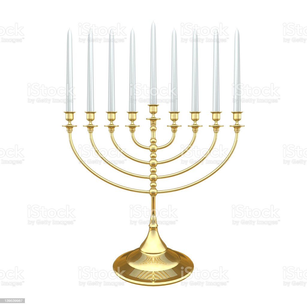Menorah01 stock photo