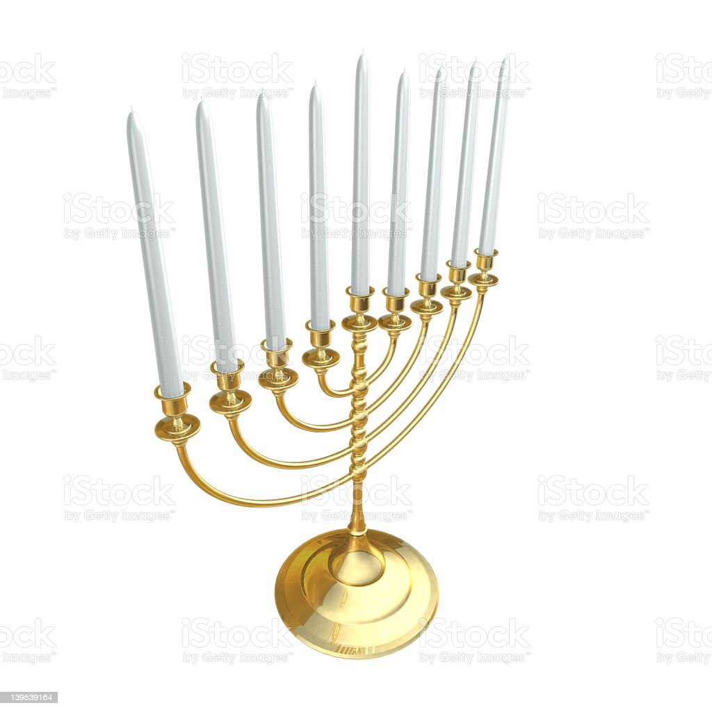 Menorah03 royalty-free stock photo