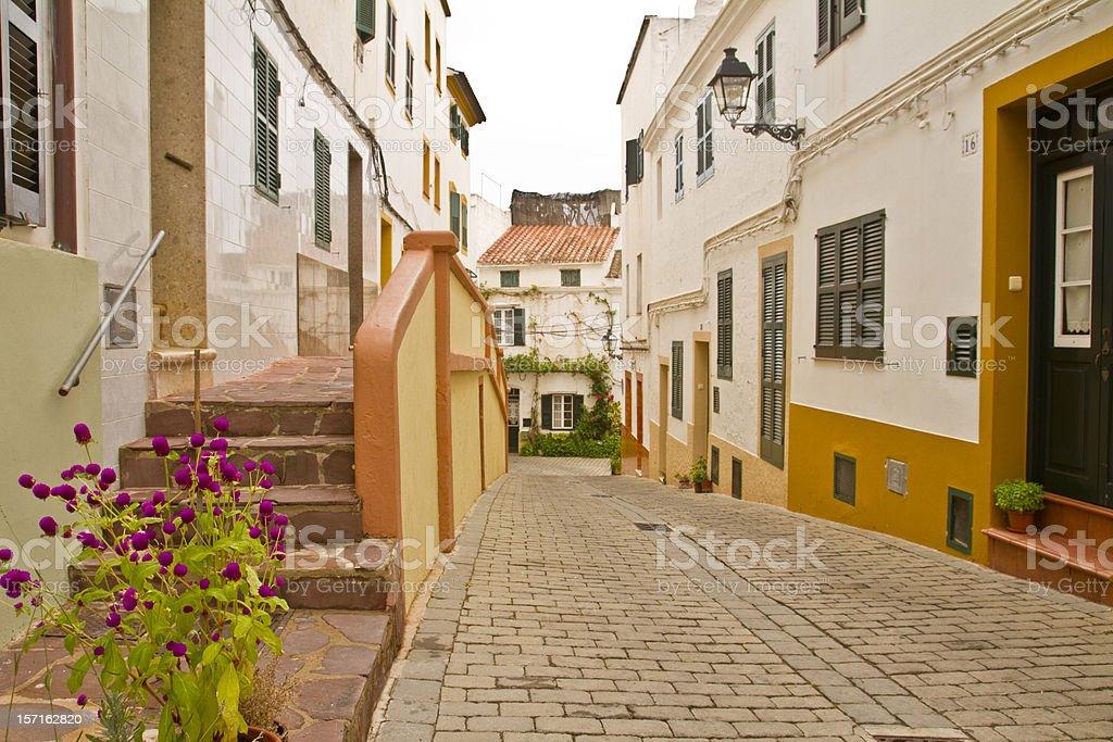 Menorca stock photo