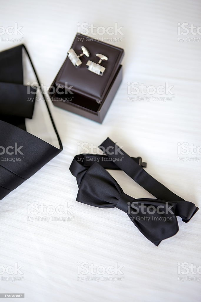 Men's accessories royalty-free stock photo
