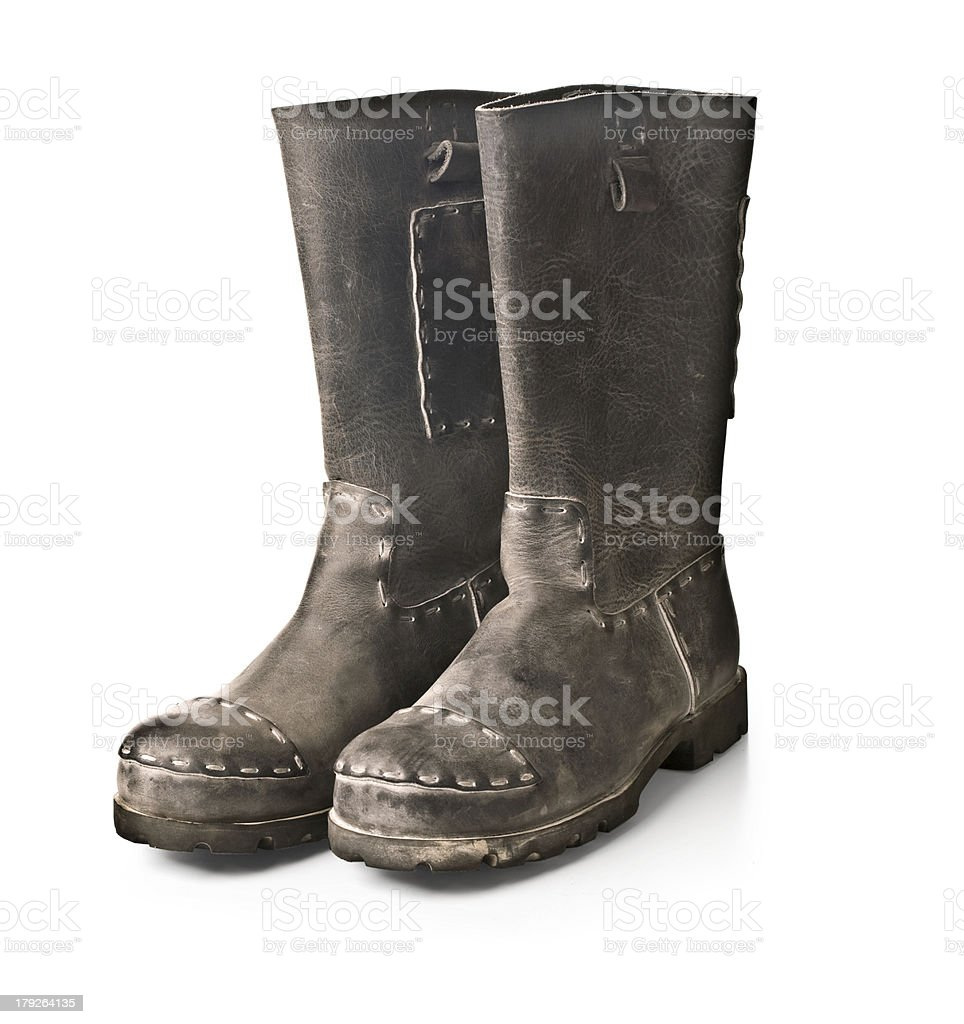 men's boots royalty-free stock photo